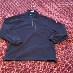 Izod black polar fleece jacket